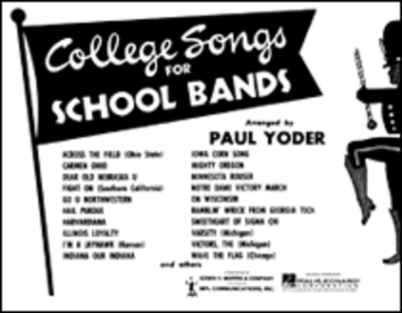 college songs for school bands eb baritone saxophone