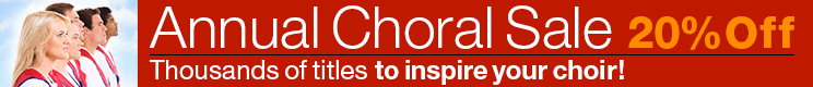 Annual Choral Sale