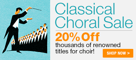20% Off Classical Choral