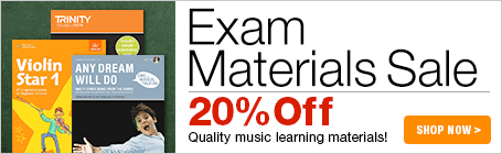 Music Exam Materials Sale