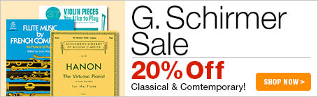G. Schirmer Music Sale
