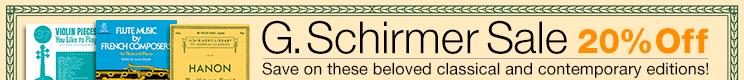G.Schirmer Sale
