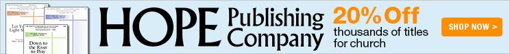 20% Off Hope Publishing titles!