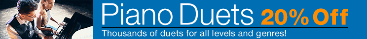 Piano Duets Sale
