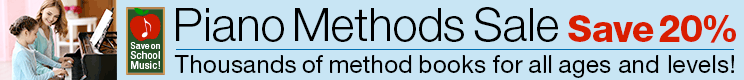 Piano Methods Sale