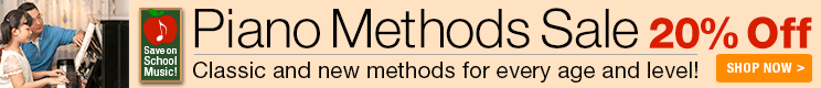Piano Methods Sale