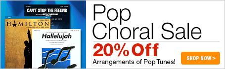 Pop Choral Music Sale