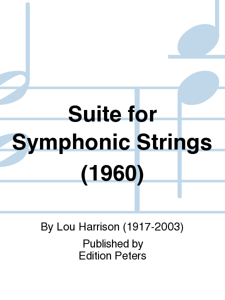 Suite for Symphonic Strings (1960)