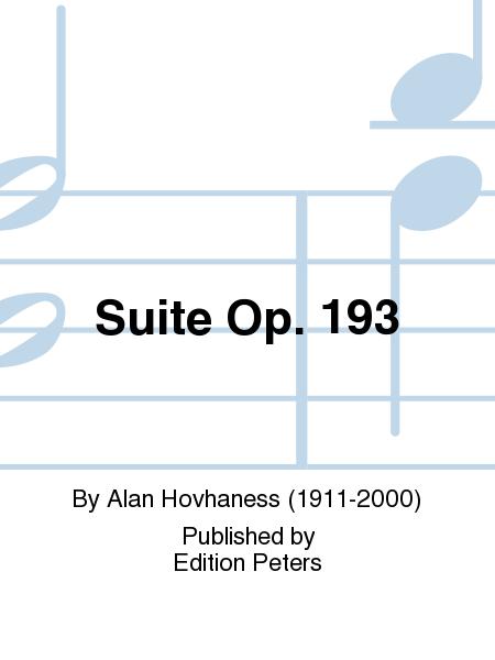 Suite Op. 193