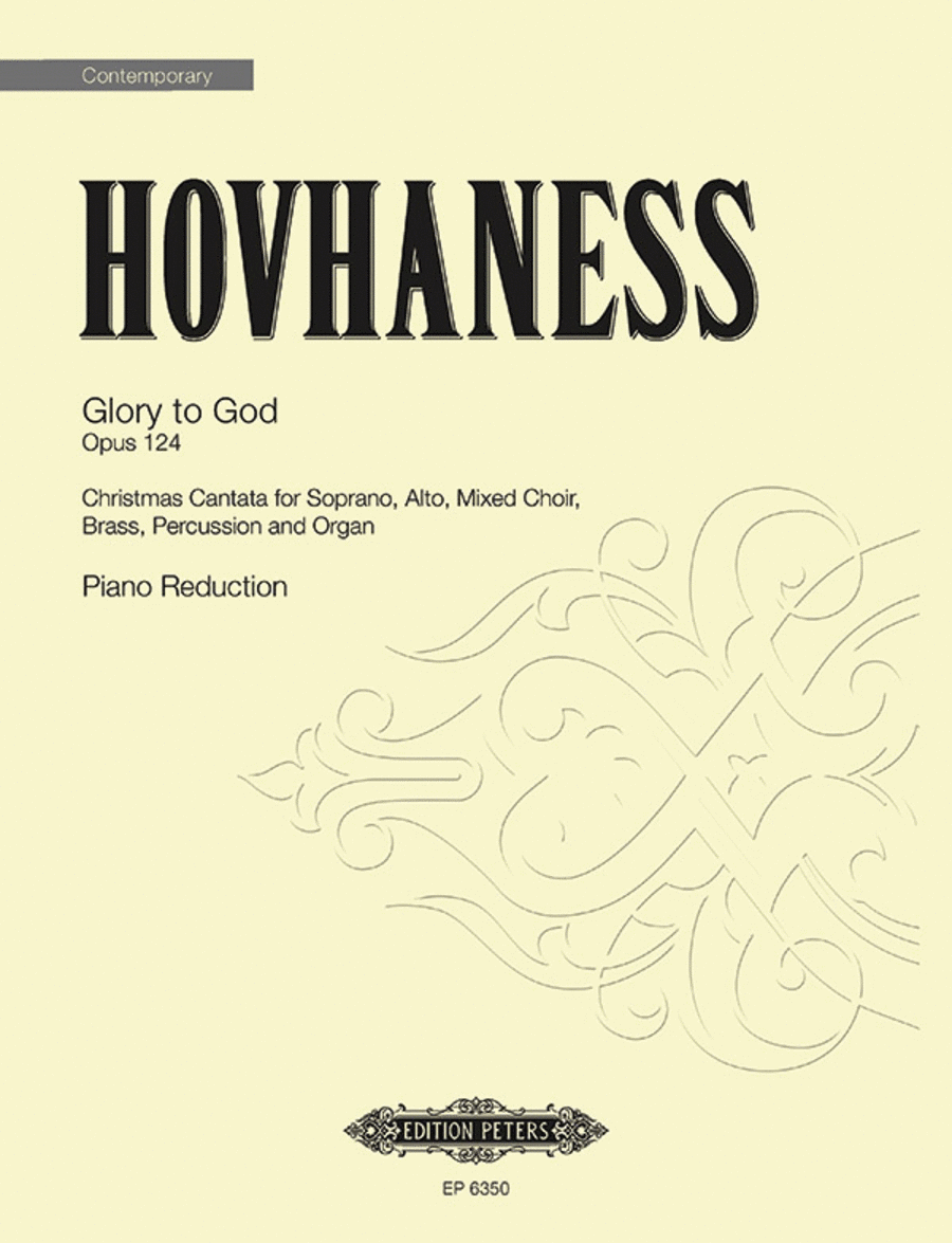 Glory to God Op. 124