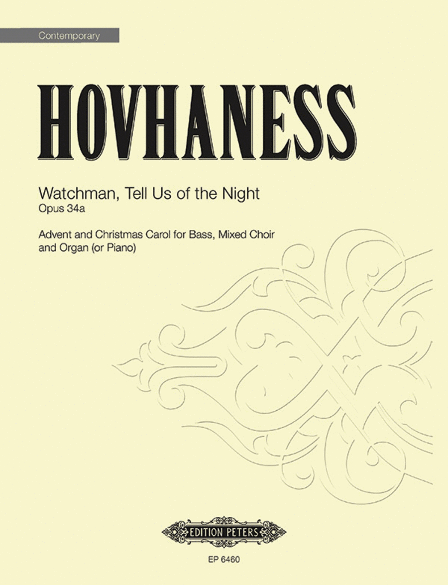 Watchman, Tell Us of the Night Op. 34a