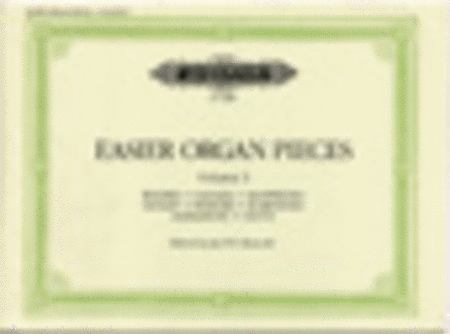 Easier Organ Pieces Vol. 3