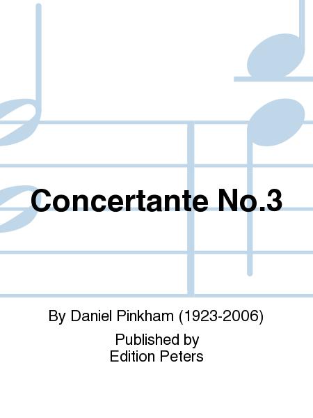 Concertante No. 3