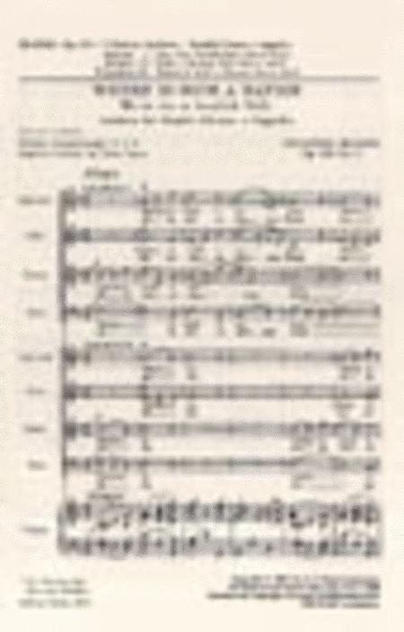 Anthem Op. 109 No. 3: Where is such a Nation/Wo ist ein so herrlich Volk