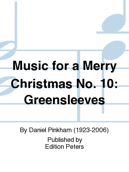 Music for a Merry Christmas No. 10: Greensleeves