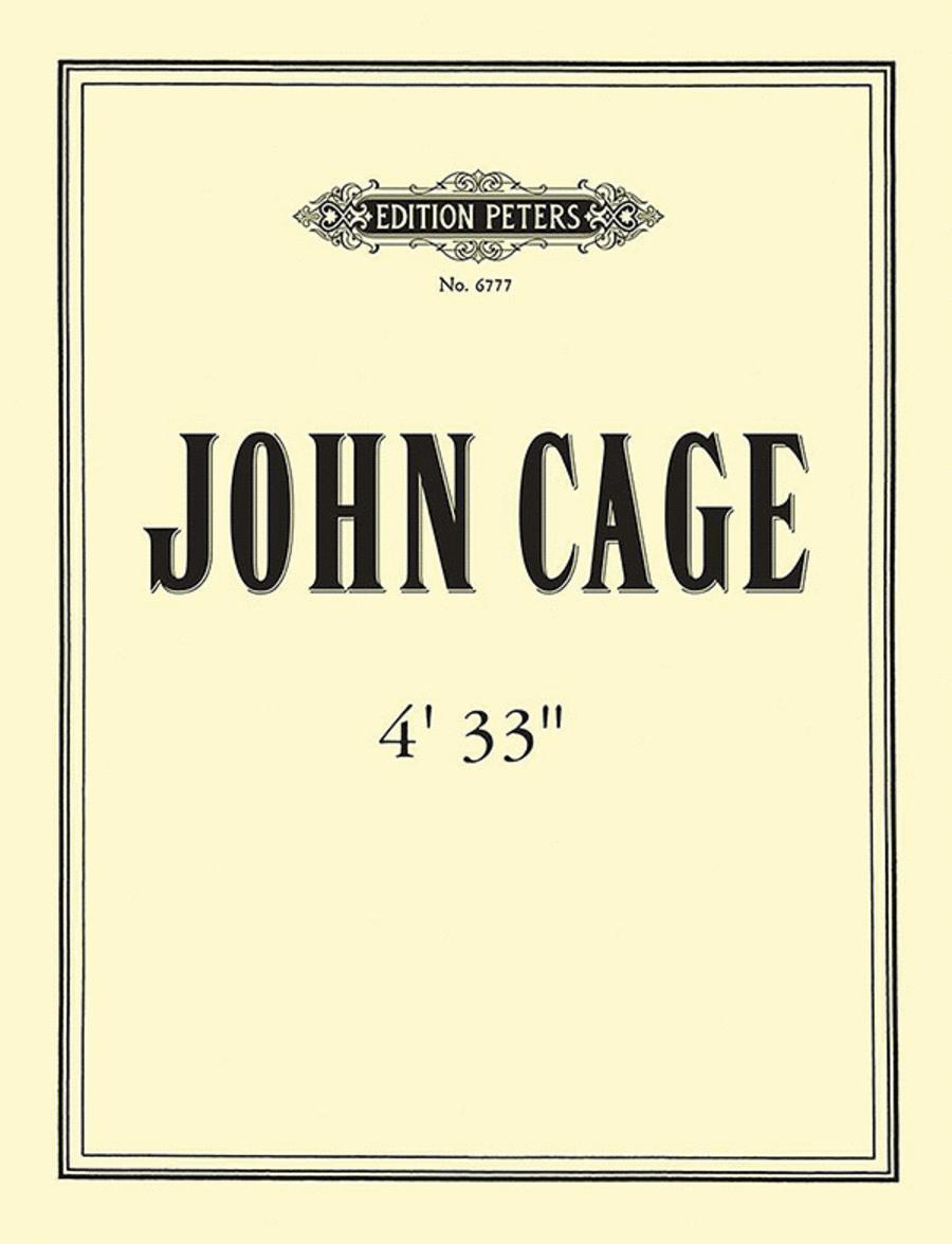 John Cage - 4'33''