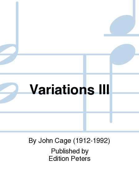 Variations III