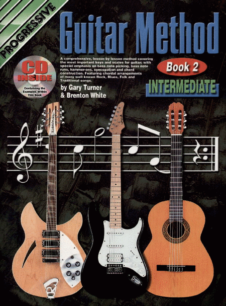 Progressive Guitar Method Book 2 (Book/CD)