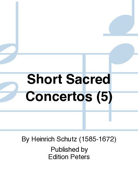 Short Sacred Concertos (5)