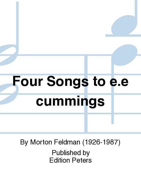 Four Songs to e.e cummings