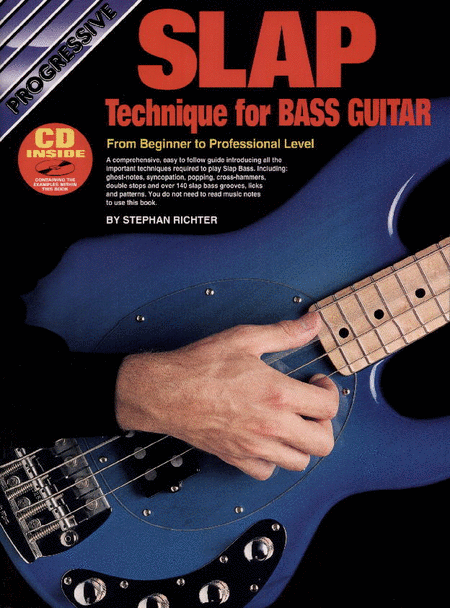 Progressive Slap Technique for Bass Guitar (Book/CD)