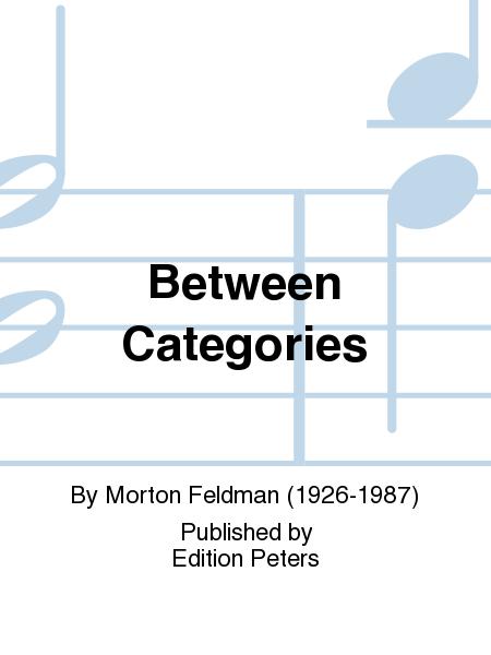 Between Categories
