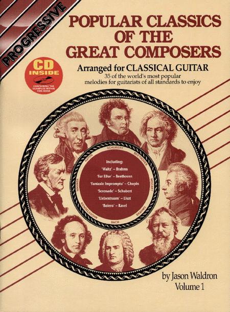 Progressive Popular Classics Volume 1 (Book/CD)
