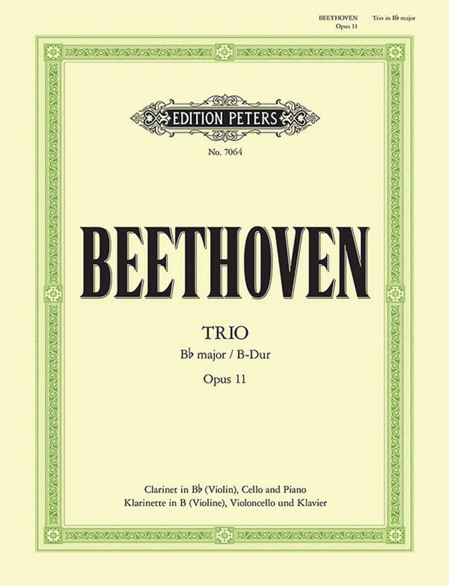 Trio in B flat Op. 11