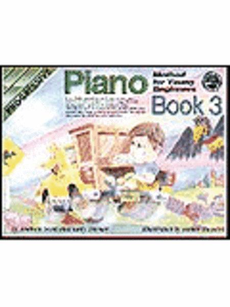 Progressive Young Beginner Piano Method Book 3 (Book/CD)