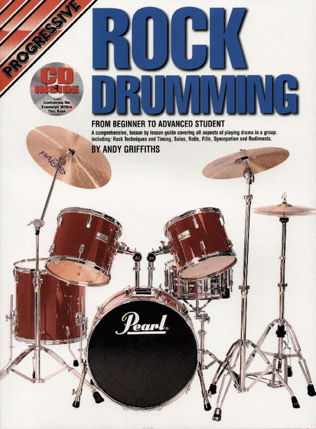 Progressive Rock Drumming (Book/CD)