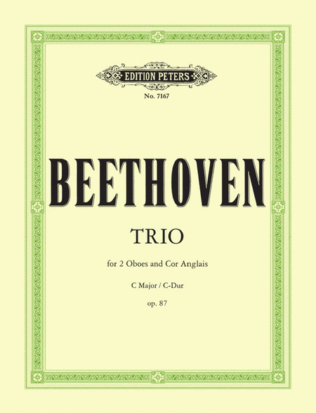 Trio in C Op. 87
