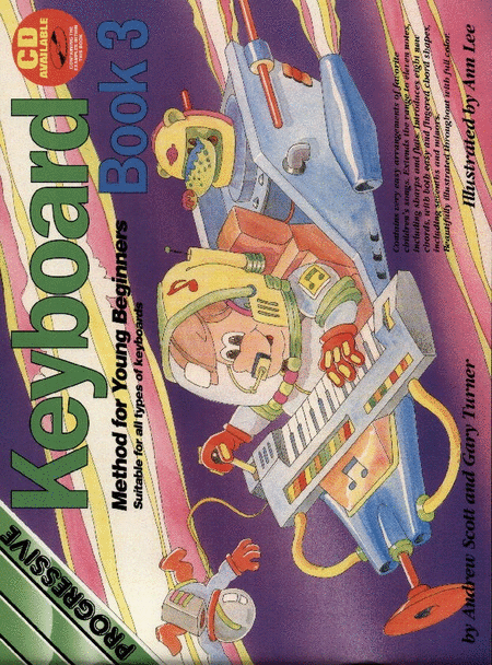 Progressive Young Beginner Keyboard Method 3 (Book/CD)