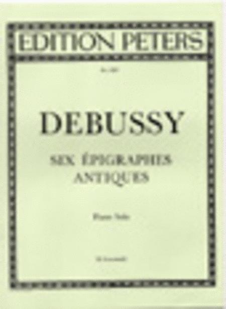 6 Epigraphes antiques