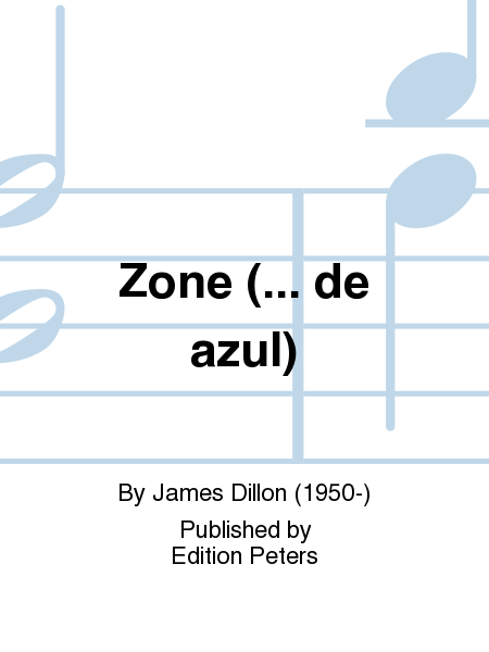 Zone (... de azul)