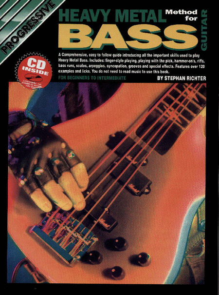 Progressive Heavy Metal Bass Guitar (Book/CD)