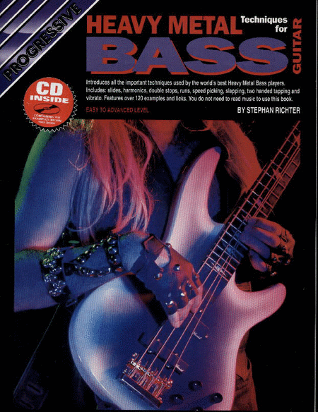Progressive Heavy Metal Bass Technique (Book/CD)