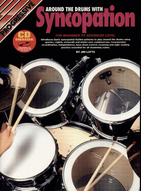Progressive Drum Syncopation (Book/CD)