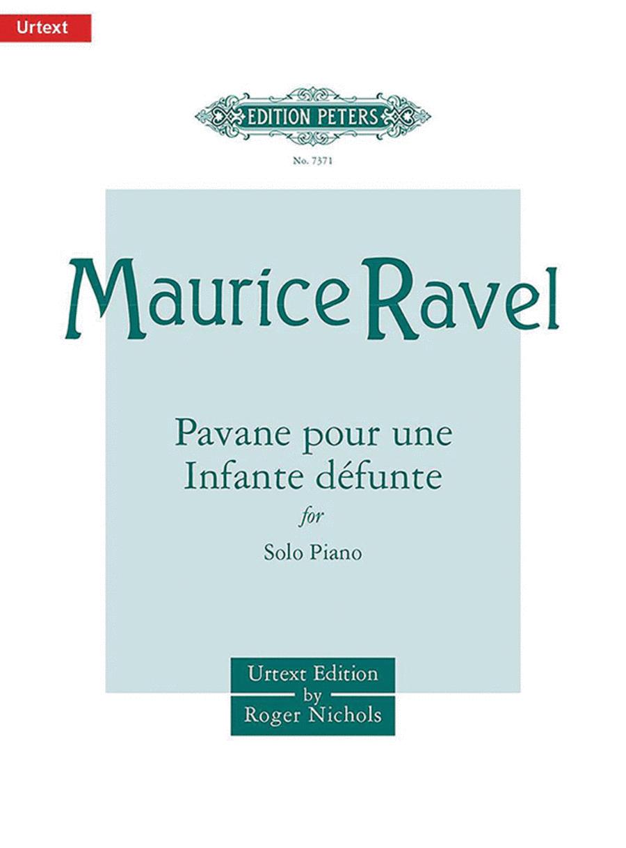 Pavane pour une Infante defunte (Pavane for a Dead Princess) - Solo Piano