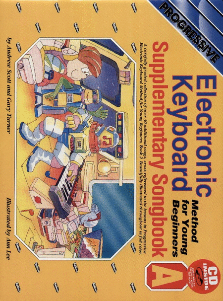 Progressive Young Beginner Keyboard Method Supplement A (Book/CD)