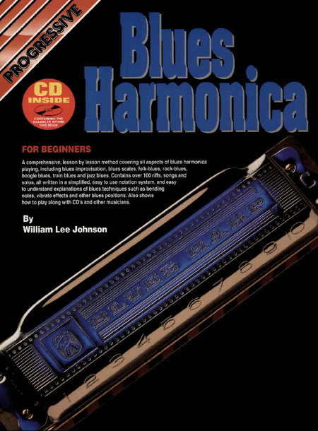 Progressive Blues Harmonica (Book/CD)