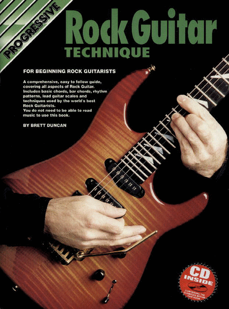 Progressive Rock Guitar Technique (Book/CD)