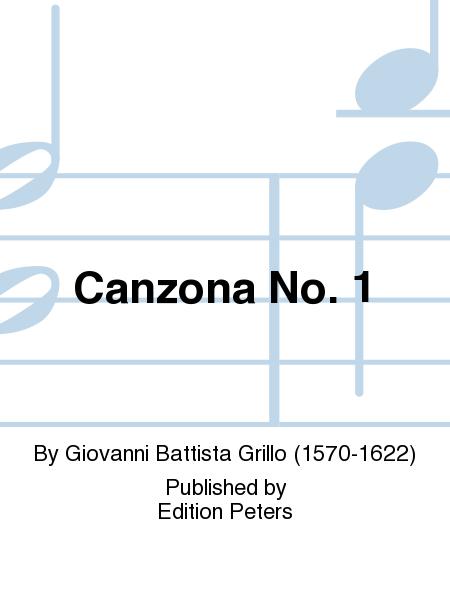 Canzona No. 1