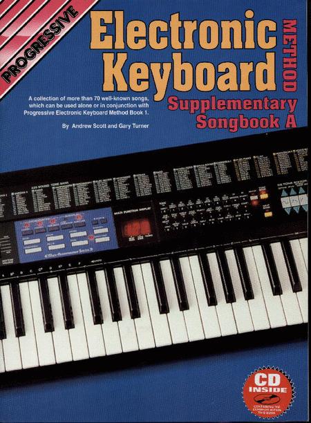 Progressive Keyboard Method Supplement A (Book/CD)