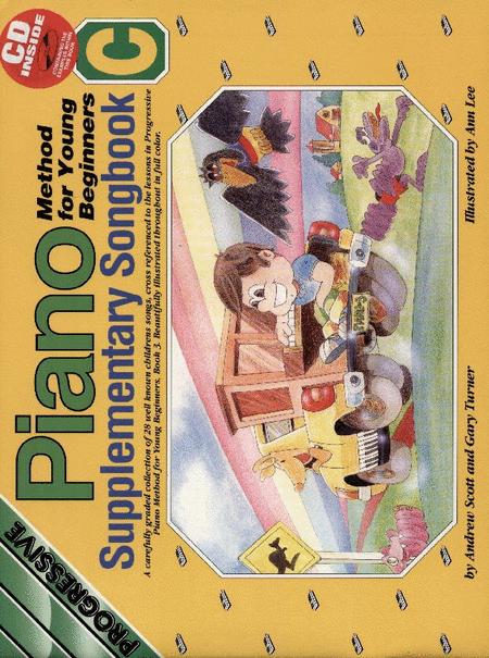 Progressive Young Beginner Piano Method Supplement C (Book/CD)