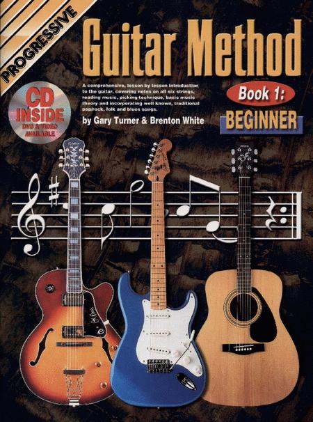 Progressive Guitar Method Book 1 (Book/CD/DVD)