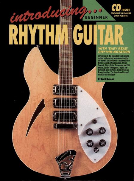 Progressive Introducing Rhythm Guitar (Book/CD)
