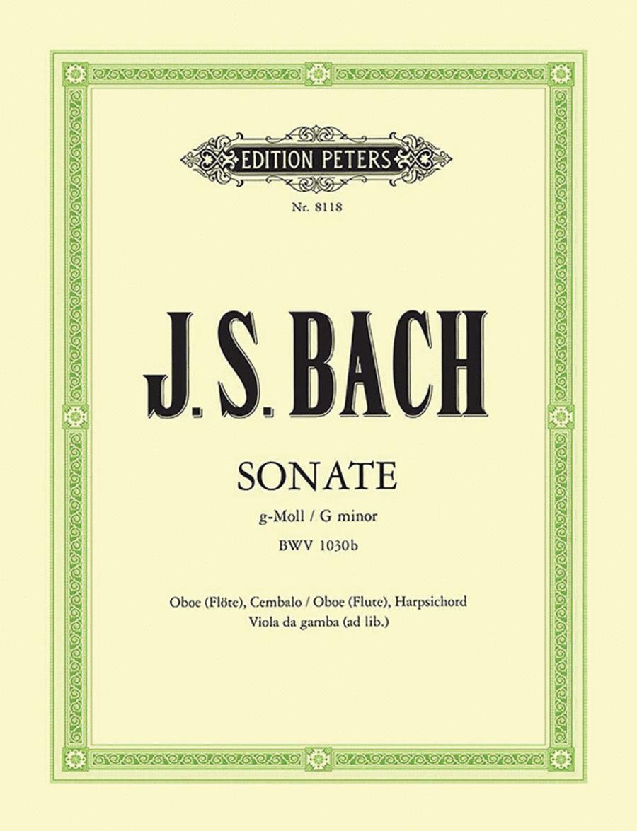 Sonata in g minor BWV 1030b
