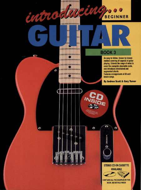Progressive Introducing Guitar Book 3 (Book/CD)