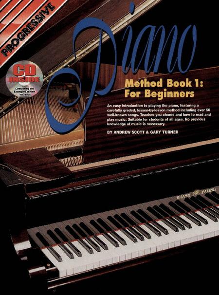 Progressive Piano Method Book 1 (Book/CD)
