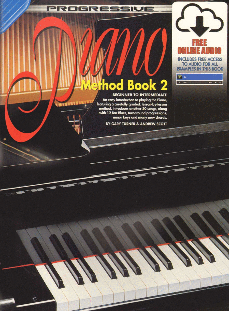 Progressive Piano Method Book 2 (Book/CD)